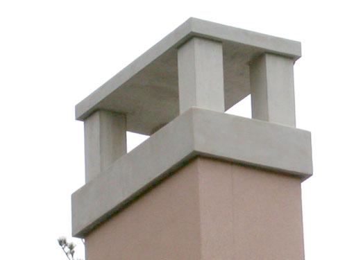 Stone Chimney Caps : Tri stone fireplace surrounds