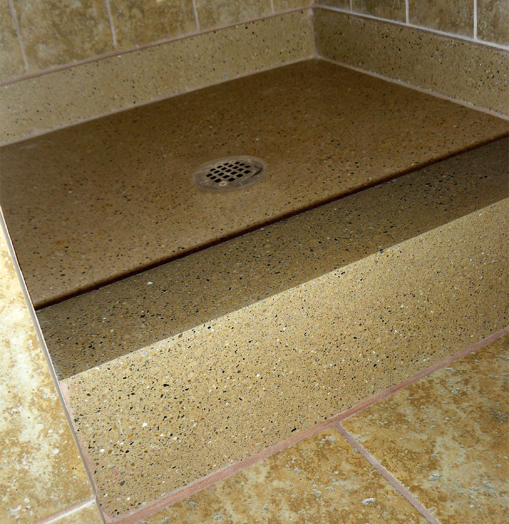 Tri Stone Shower Bases And Shelves